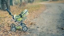 Брошенного младенца вколяске нашли вПетербурге