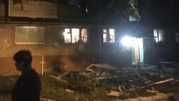 Хлопок газа произошел вмногоквартирном доме вТюмени