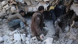 «Белые каски» готовят вСирии новую провокацию схиморужием