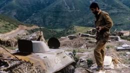 Видео: Военные Азербайджана уничтожили беспилотник ВСАрмении