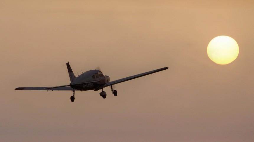 Легкомоторный самолет рухнул вХанты-Мансийском автономном округе