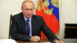 Президент внес вГосдуму законопроекты попоправкам кКонституции