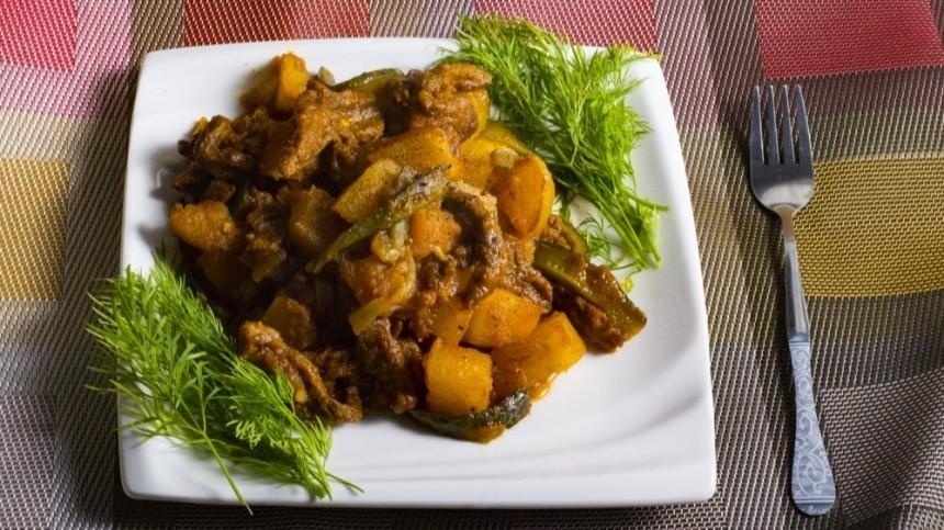 Готовим сытное азу по-татарски— пошаговый рецепт сфото