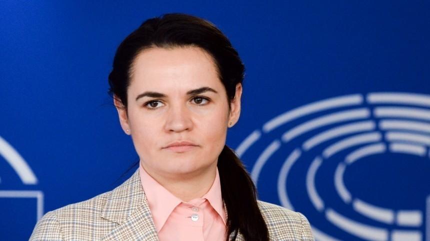 Светлана Тихановская назвала себя единственным лидером белорусов