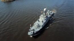 Названа причина столкновения фрегата ВМФ РФсиностранным судном вБалтийском море