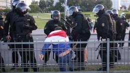 Очевидцы сообщили острельбе вМинске входе массовых протестов
