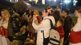 Вовремя акции протеста вМинске пострадали несколько ОМОНовцев