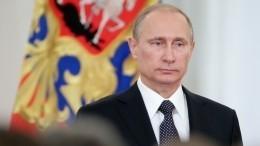 «Если решение будет принято— прекрасно»: Песков овыдвижении Путина наНобелевскую премию мира