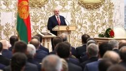 Лукашенко ответил накритику «тайной» инаугурации
