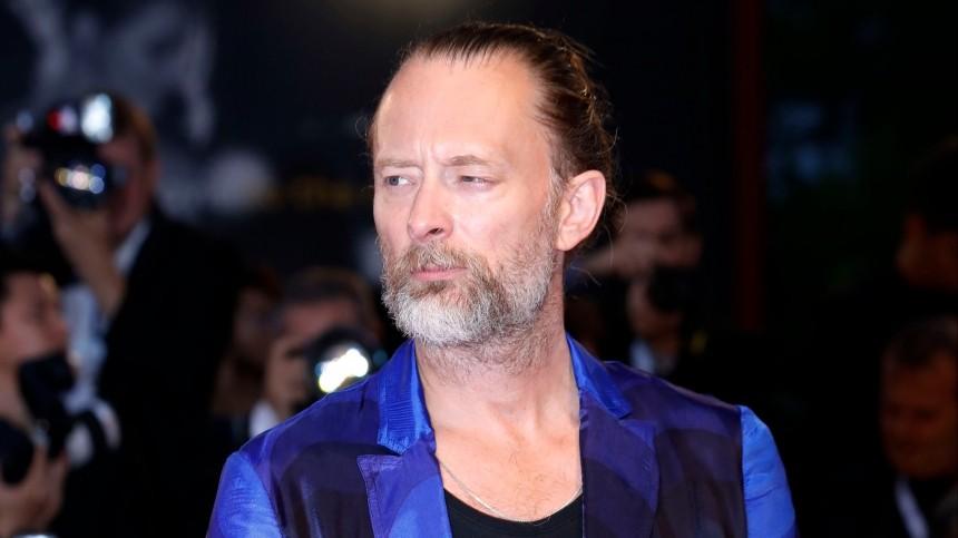 Лидер Radiohead Том Йорк женился наитальянской актрисе