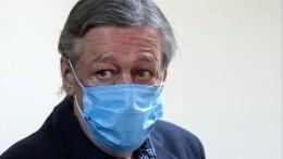 Удесятилетнего сына Михаила Ефремова подтвердился коронавирус