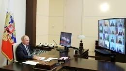 Владимир Путин дал напутствие избранным губернаторам— видео
