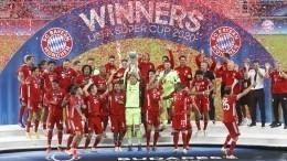 Суперкубок УЕФА отправился вГерманию