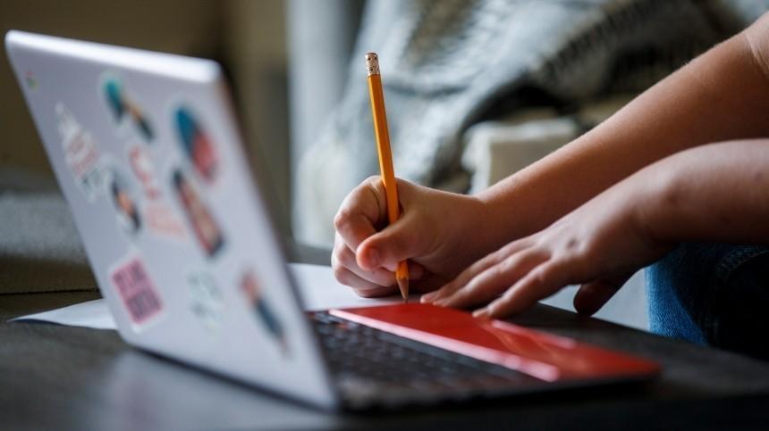 Родители российских школьников назвали недостатки дистанционного обучения
