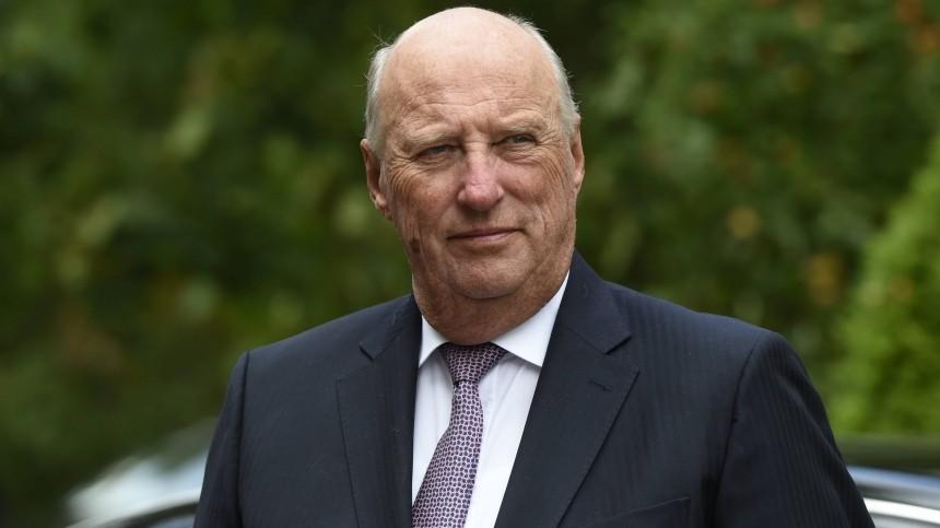 Король Норвегии Харальд V попал вбольницу