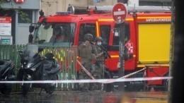 Подозреваемый внападении напрохожих убывшего здания редакции Charlie Hebdо задержан