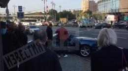 «Занесло»: гонщик наFerrari рассказал, как въехал вмаршрутку вМоскве