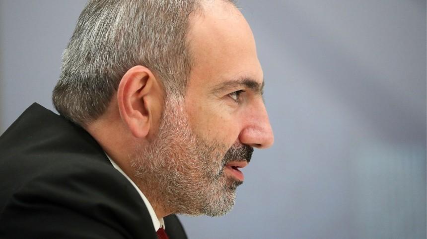 Премьер Армении заявил, что ВСАзербайджана начали наступление