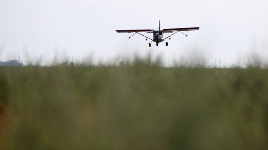 Очевидцы сообщили опадении легкомоторного самолета вНижегородской области