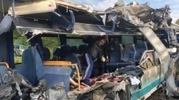 ВМВД уточнили число погибших вДТП савтобусом игрузовиком под Калининградом
