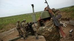 ВМинобороны Азербайджана заявили обобстреле улинии соприкосновения