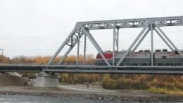 Новый железнодорожный мост открыли вМурманской области