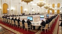 Путин оценил роль Государственного совета всистеме власти России
