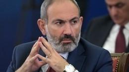 Пашинян обсуждает возможность «соразмерного удара» попротивнику