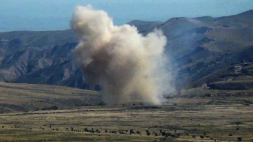 Минобороны Азербайджана опровергло сообщение осбитом вКарабахе самолете