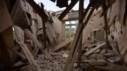 Жителей стихийно эвакуируют изкарабахского Степанакерта