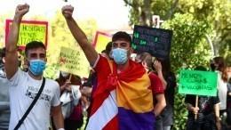 Протесты сторонников независимости возобновились вКаталонии