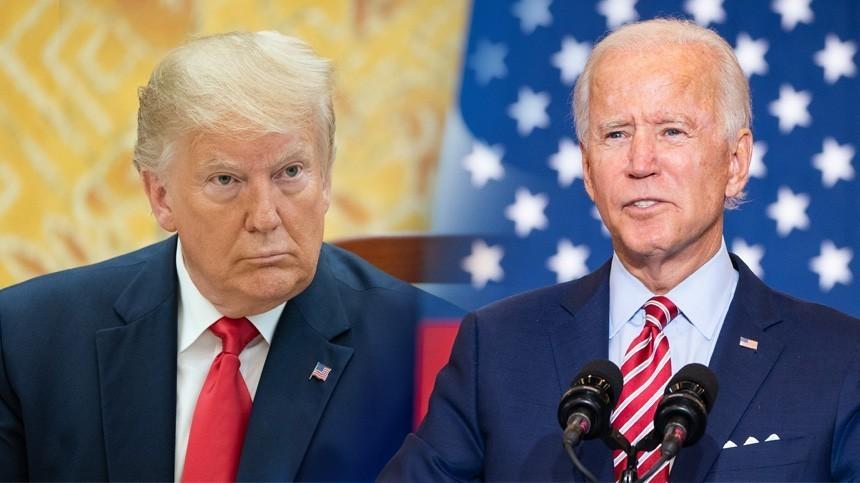 Дебаты Трампа иБайдена— выборы президента США 2020
