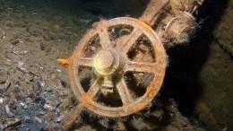 Польские водолазы надеются найти Янтарную комнату назатонувшем немецком пароходе