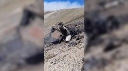 Минобороны Армении показало кадры сбитого Су-25— фото