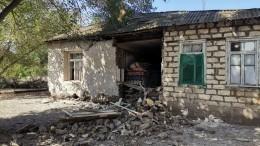 Житель обстрелянного города вКарабахе рассказал обобстановке взоне конфликта