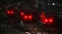 Четыре поезда задержали из-за задымления наузловой станции вАмурской области