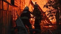 Стали известны подробности разрушительного пожара, уничтожившего село под Воронежем