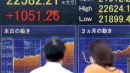 Токийская биржа приостановила торги впервые за20 лет