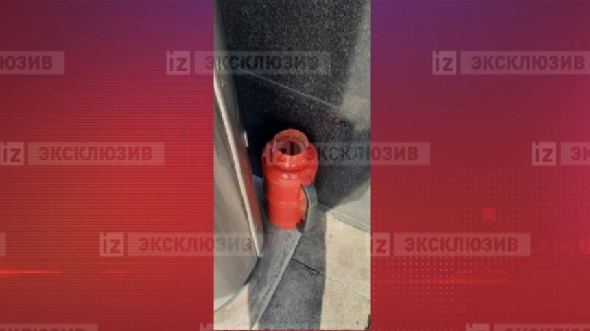 Фото термоса, изкоторого предположительно вылили фекалии наПашаева