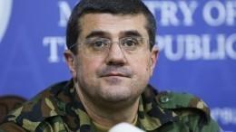 Президент непризнанной НКР соспецназом направляется напередовую