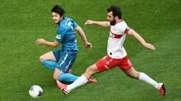 «Спартак» и«Зенит» опубликовали стартовые составы напредстоящий матч