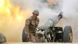 ВСтепанакерте слышны взрывы артиллерийского огня— видео
