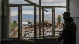 Ереван допускает обсуждение вопроса овведении российских миротворцев вНагорный Карабах