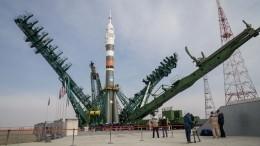 Российские космонавты сборта МКС поздравили Байконур сюбилеем— видео