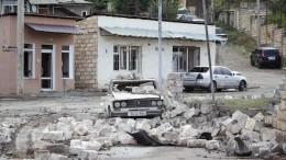 Спикер парламента Армении отправился сэкстренным визитом вСтепанакерт