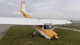 Легкомоторный самолет совершил аварийную посадку под Петербургом