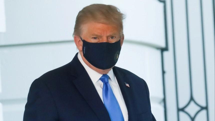 Американские журналисты рассказали опанике Трампа, узнавшего оCOVID-19