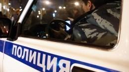 Видео задержания подозреваемого взверском убийстве женщины вМоскве