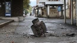 Видео: вНагорном Карабахе разбомбили дом культуры