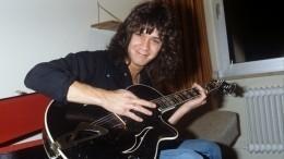 Умер основатель рок-группы Van Halen гитарист Эдди ван Хален
